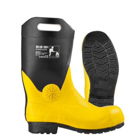Nokian Jalkineet Firesafe - Musta/keltainen