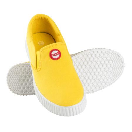 Nokian Jalkineet Hai Canvas Slip-on tennari - Keltainen