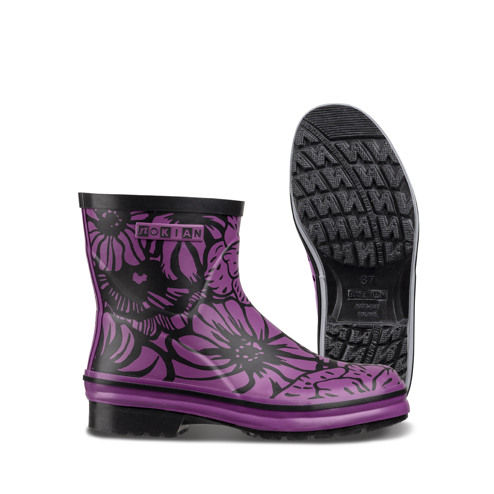 Nanso Low Nostalgia rubber boots for ladies